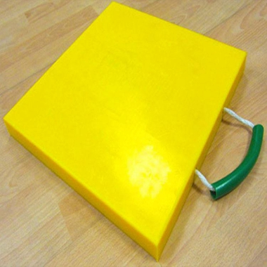 Crane anti-skid leg block